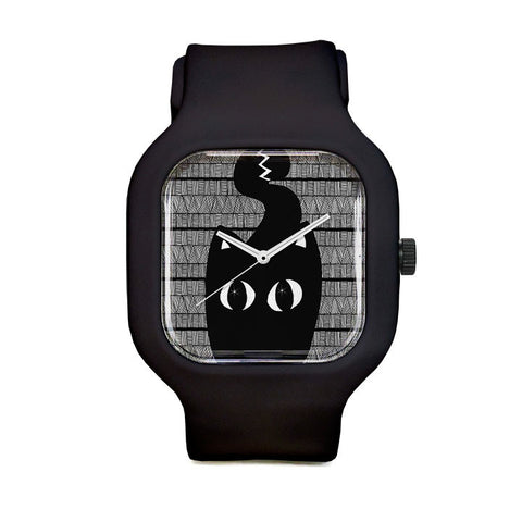 Black Cat Sport Watch