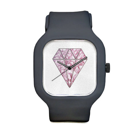 Pink Diamond Sport Watch