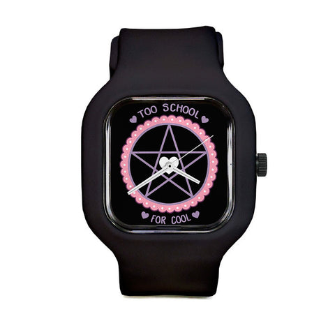GLOW- Too School For Cool Sport Watch