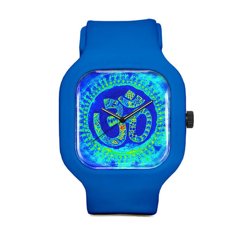Blue Om Sport Watch