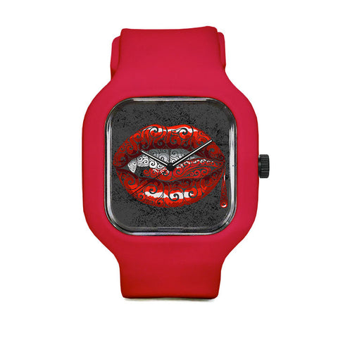 Swirly Fangs Sport Watch