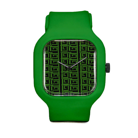 Rectangular Sport Watch