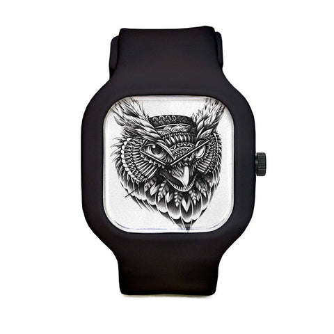 Ornate Owl Sport Watch