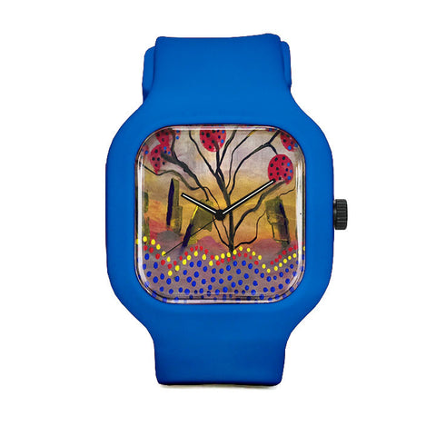 Dotted Tree Sport Watch