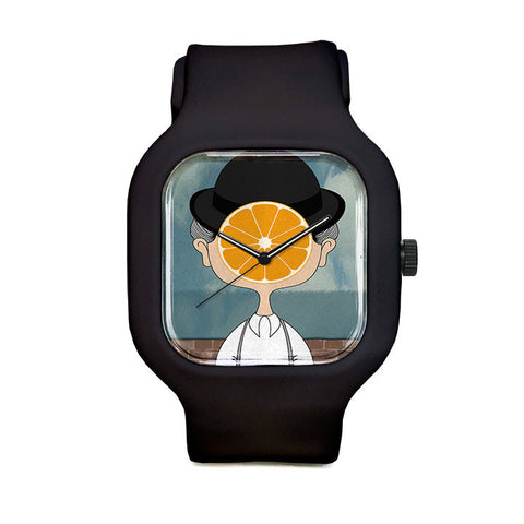 Magritte Clockwork Orange Sport Watch