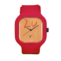 Orange Figure Sport Watch