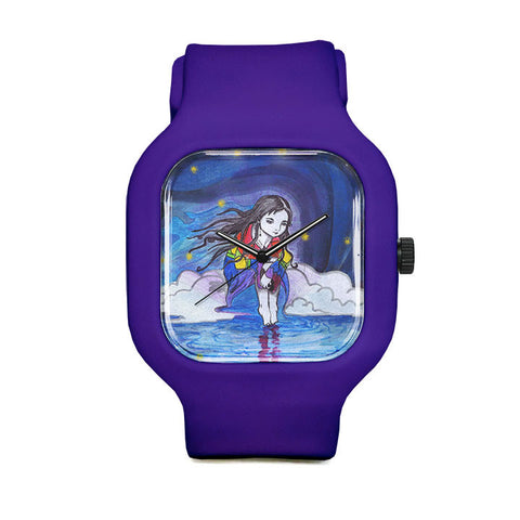 Estrella Nicolas Rainbow Girl Sport Watch