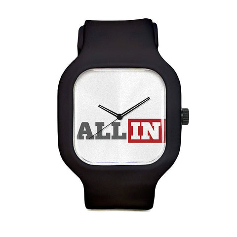 All In White Sport Watch