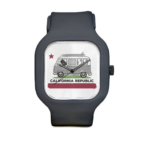 Surfer Bear Sport Watch