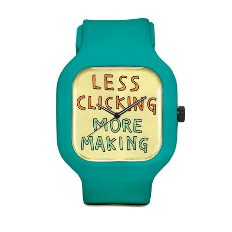 Less Clicking More Making Sport Watch