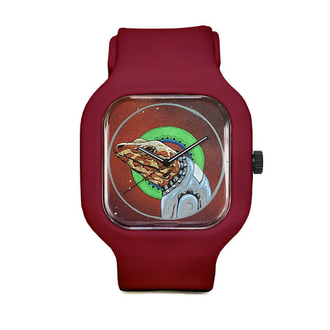 Samuel the Special Space Lizard Sport Watch