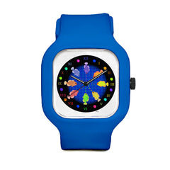 Fish Mandala Sport Watch