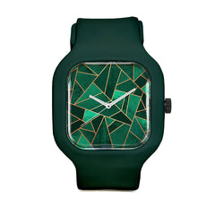 Emerald and Copper Sport Watch