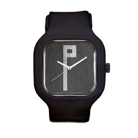 Monolithic Monogram P Sport Watch