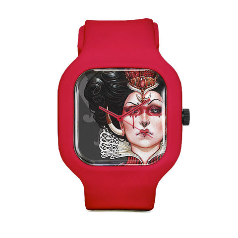 Queen of Hearts Sport Watch