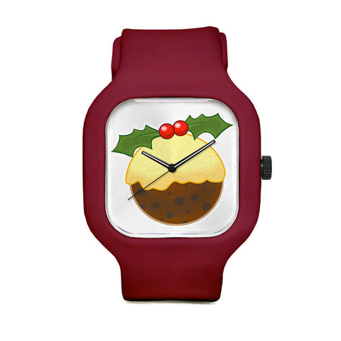 Xmas Pudding Sport Watch