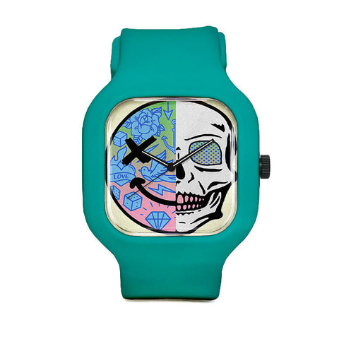 Gradient Skull Sport Watch