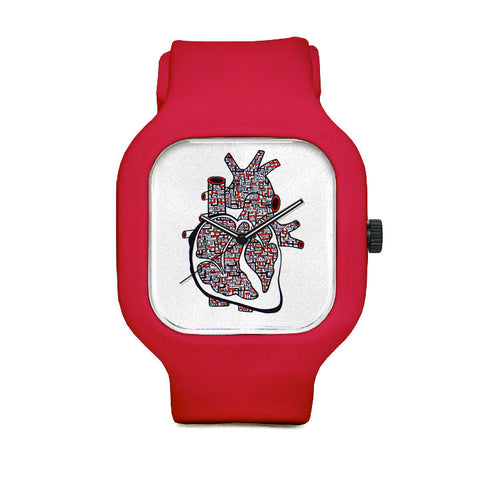 Heart Transformatil Sport Watch