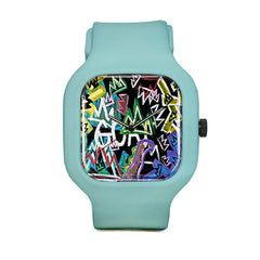 Graffiti Sport Watch