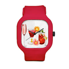 Cocktail Glasses Sport Watch