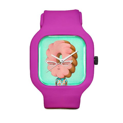 Glazed and Confused Cruller Sport Watch