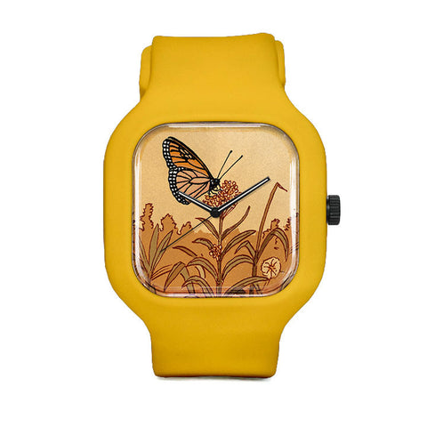 Flower Monarch Sport Watch