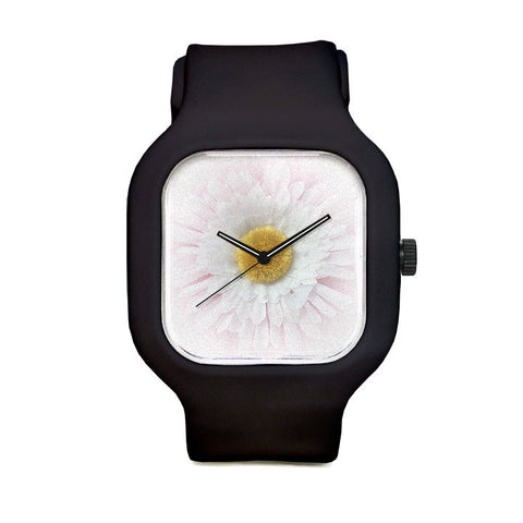 Posh Pearl Flower Sport Watch