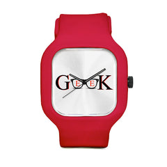 Geek Red Sport Watch