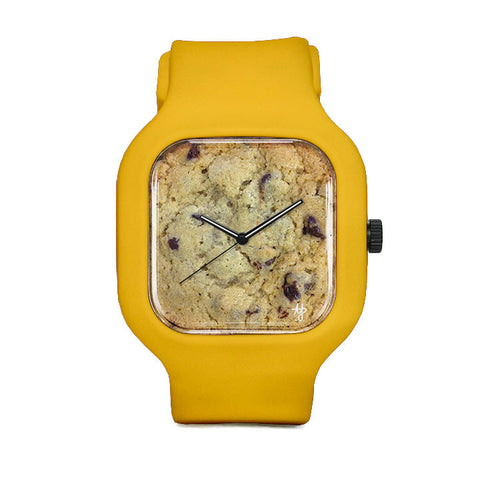 Chocolate Chip Cookie Sport Watch