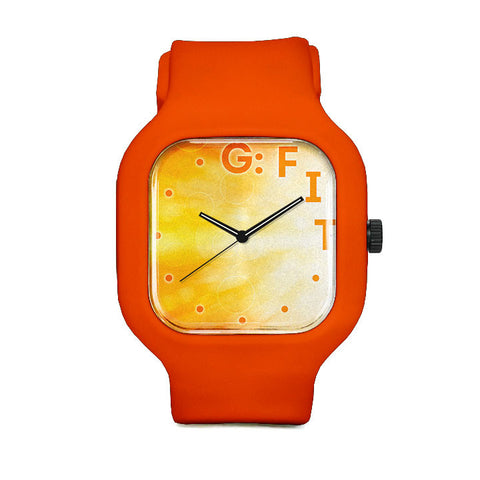 Fiverr Orange Sport Watch