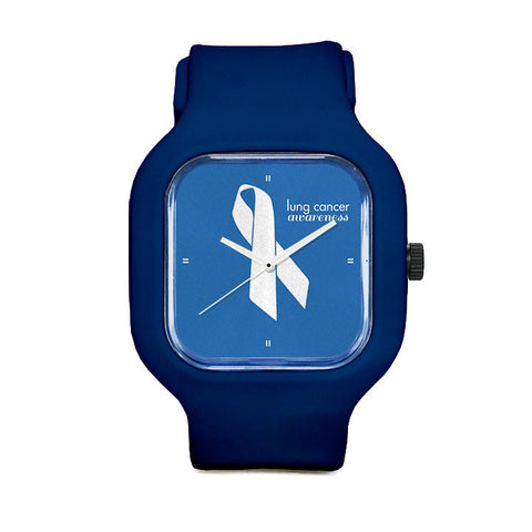 Raise Lung Cancer Awareness Sport Watch