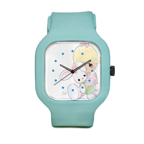 Precious Moments Bunny Sport Watch