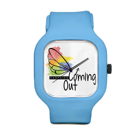 Coming Out Clean Sport Watch