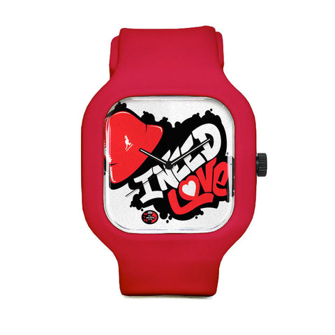 I Need Love Sport Watch