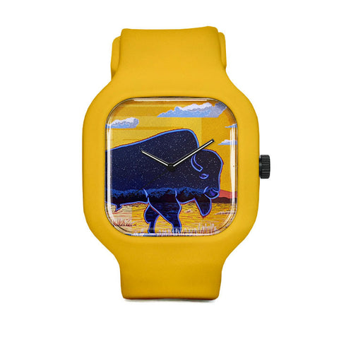 Yellow Daywalker Sport Watch