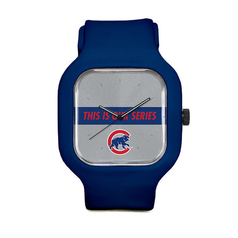 Chicago Cubs This is Our Series Sport Watch
