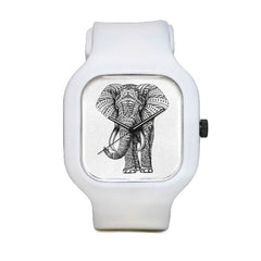 Ornate Elephant Sport Watch