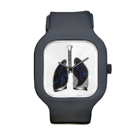 Galaxy Lung Sport Watch