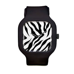 Zebra Stripes Sport Watch