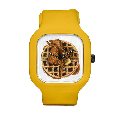 Chicken and Waffles Sport Watch