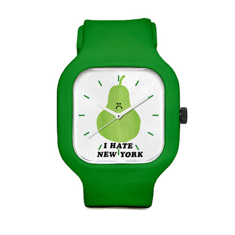 IHate New York Sport Watch