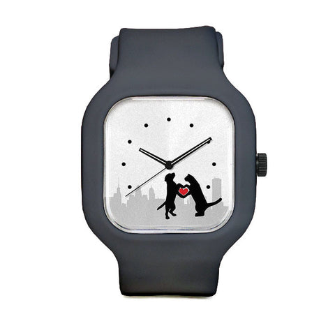Buffalo CARES Background Sport Watch