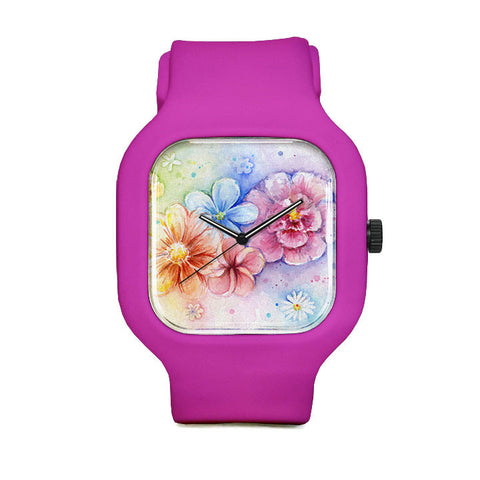 Flower Power Sport Watch