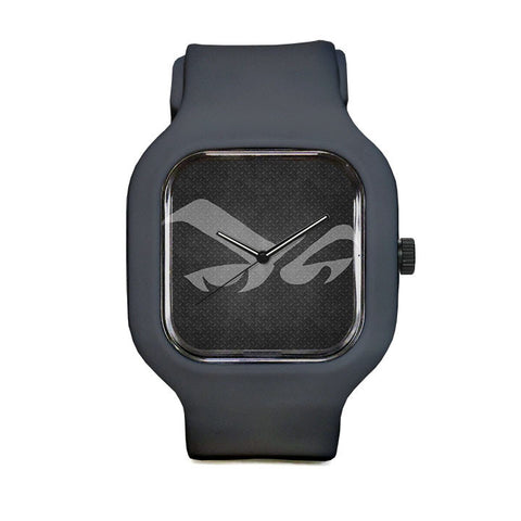 Gray Glare Sport Watch