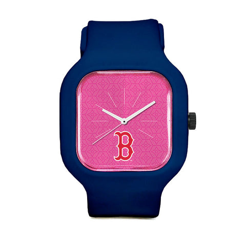 Pink Boston Red Sox Sport Watch