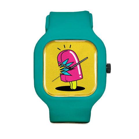 Pink Popcycle Sport Watch
