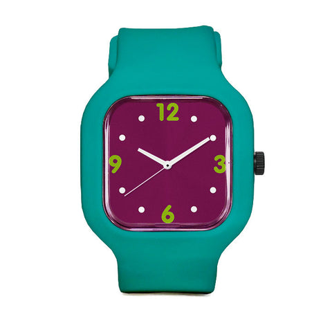 Basic Maroon Sport Watch