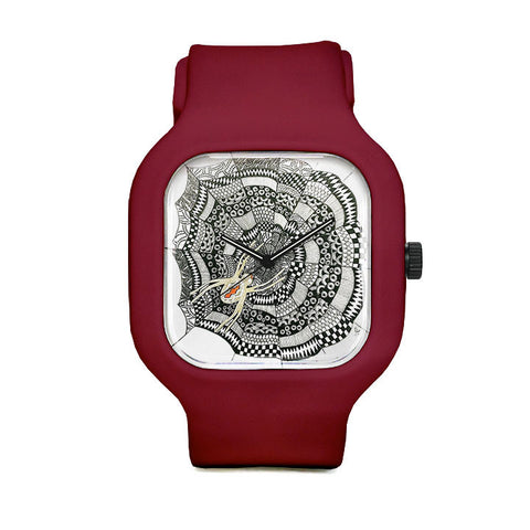 Spider Web Sport Watch