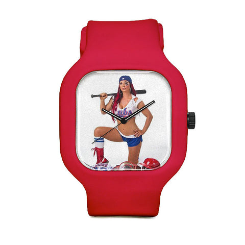 Chicago Cubs Girl 2 Sport Watch