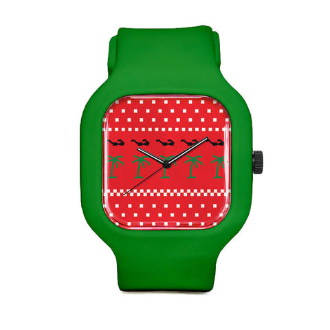 Ugly Sweater Sport Watch